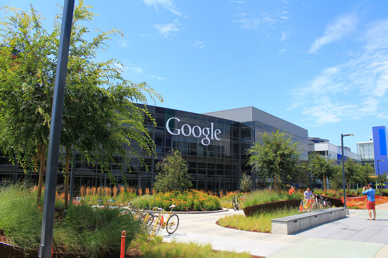 Edificio de Google en California